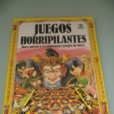 Libros de segunda mano: JUEGOS HORRIPILANTES 12 NUEVOS Y ESCALOFRIANTES JUEGOS DE MESA -DIABÓLICAMENTE INVENTADOS SHOO RAYNE. Lote 48887549