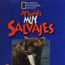 Libros de segunda mano: ANIMALES MUY SALVAJES - EN BUSCA DE ALIMENTO - NATIONAL GEOGRAPHIC SOCIETY - AÑO 1996. Lote 48894824
