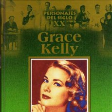 Libros de segunda mano: GRACE KELLY - PERSONAJES DEL SIGLO XX - EDICIONES RUEDA - TAPA DURA - AÑO 2000. Lote 48895118