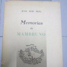 Libros de segunda mano - Memorias de manbruno Juan Ruiz Peña - 48938918