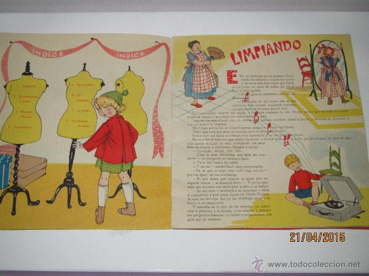 Libros de segunda mano: Mari Pepa ARTISTA DE CINE Texto de Emilia Cotarelo e Ilustraciones de María Claret- Año 1953. - Foto 2 - 48970369