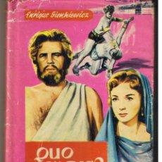 Libros de segunda mano: COLECCIÓN GACELA BLANCA. Nº 60. QUO VADIS?. ENRIQUE SIENKIEWICZ. FERMA 1963. (B/A38). Lote 48982797