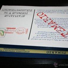 Libri di seconda mano: TEMARIO, AUXILIARES POSTALES Y DE TELECOMUNICACION, CENTRO DE ESTUDIOS ADAMS 1999. Lote 48984088