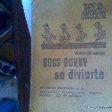 Libros de segunda mano: BUGS BUNNY SE DIVIERTE - WARNER BROS. Lote 49005615
