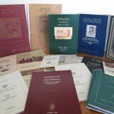 Libros de segunda mano: COLECCION DE CATALOGOS DE LIBROS ANTIGÜOS. MIRAR FOTOGRAFIAS.. Lote 49010799