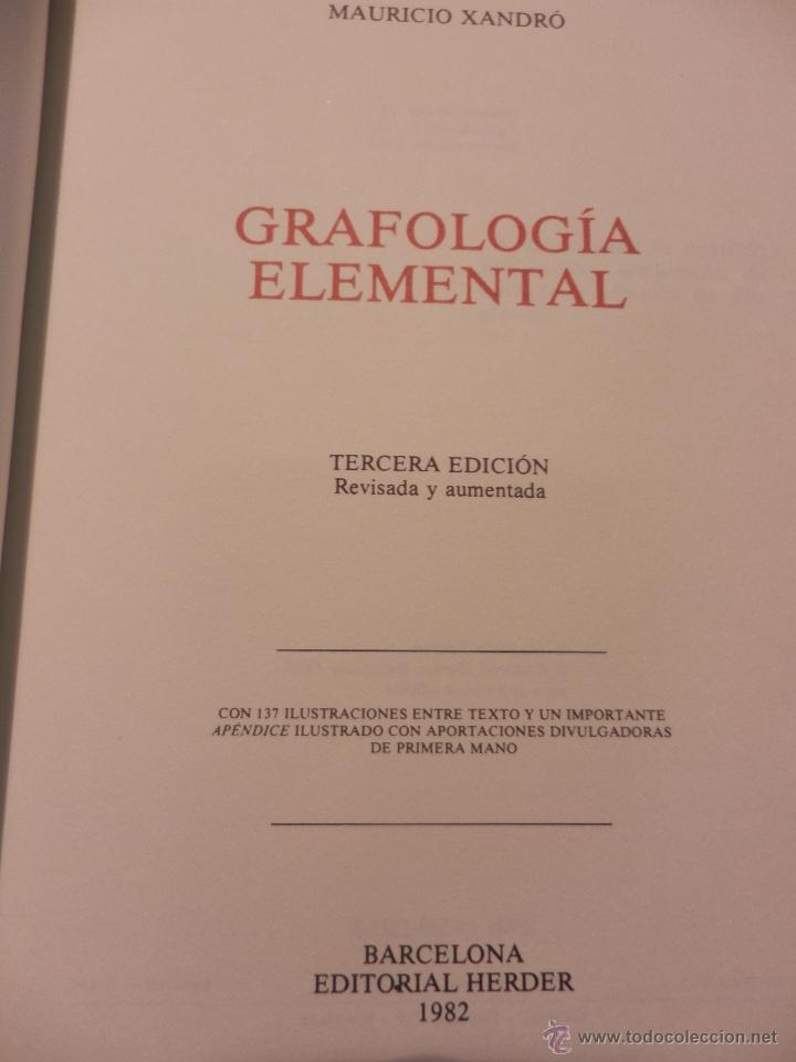 Mauricio Xandro Grafologia Elemental Download