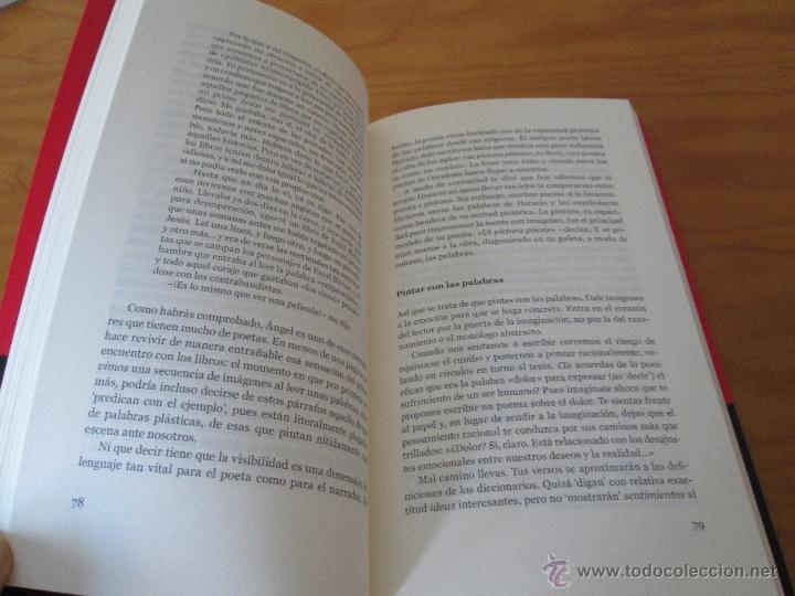 Libros de segunda mano: ESCRIBIR UN POEMA. EDUARDO GARCIA. E.D. EL OLIVO AZUL. - Foto 6 - 49027550