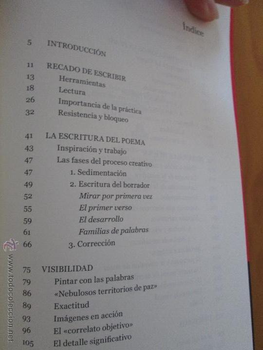 Libros de segunda mano: ESCRIBIR UN POEMA. EDUARDO GARCIA. E.D. EL OLIVO AZUL. - Foto 7 - 49027550