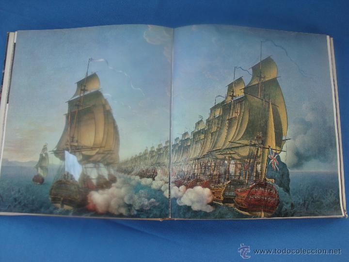Libros de segunda mano: GRANDES BATALLAS NAVALES - OLIVER WARNER -PLAZA 6& JANES 1964 - Foto 3 - 49143404