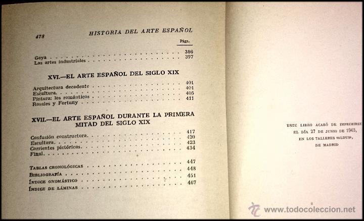 Libros de segunda mano: HISTORIA DEL ARTE ESPAÑOL - LA HISTORIA PARA TODOS - Foto 2 - 49150942