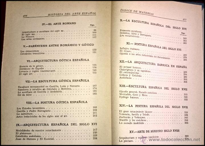 Libros de segunda mano: HISTORIA DEL ARTE ESPAÑOL - LA HISTORIA PARA TODOS - Foto 3 - 49150942