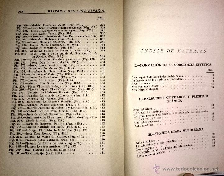 Libros de segunda mano: HISTORIA DEL ARTE ESPAÑOL - LA HISTORIA PARA TODOS - Foto 4 - 49150942