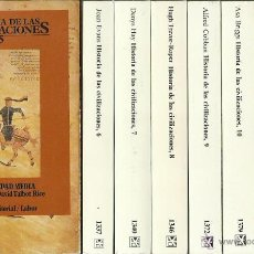 Libros de segunda mano: HISTORIA DE LAS CIVILIZACIONES. VOL. 7. LA ÉPOCA DEL RENACIMIENTO, POR DENYS HAY (DIR.). 1988. Lote 129643043