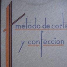 Libros de segunda mano: METODO DE CORTE Y CONFECCION TEOFILA ADRADA.BILBAO.97 PG.FOLIO.ILUSTRADO.1951. Lote 89638242