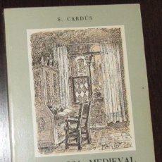 Libros de segunda mano: TERRASSA MEDIEVAL. VISIÓ HISTÒRICA / SALVADOR CARDÚS / FACSÍMIL 1984. Lote 96884379
