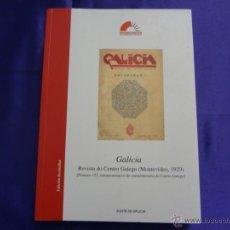 Libros de segunda mano: GALICIA. REVISTA DO CENTRO GALEGO (MONTEVIDEO, 1929).CENTRO RAMON PIÑEIRO.2005. Lote 49210207