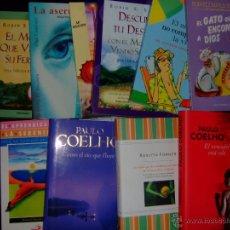 Libros de segunda mano: LOTE DIEZ LIBROS VARIADOS DE AUTOAYUDA. Lote 49308096