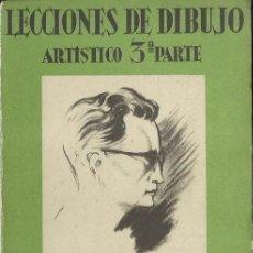 Libros de segunda mano: LECCIONES DE DIBUJO ARTÍSTICO. 3. ANATOMÍA ARTÍSTICA, DE EMILIO FREIXAS. (E. MESEGUER, EDITOR, 1946). Lote 49372437