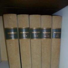Libros de segunda mano: TECNIRAMA. ENCICLOPEDIA DE LA CIENCIA Y DE LA TECNOLOGIA. VV.AA. EDITORIAL CODEX. 1963.. Lote 49405115