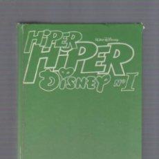 Libros de segunda mano: HIPER HIPER DISNEY Nº 1. EDICION PRIMAVERA. 290 PAGINAS. A COLOR. Lote 49424865