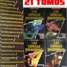 Libros de segunda mano: ENCICLOPEDIA DE LAS CIENCIAS PROHIBIDAS - MISTERIO ESOTERISMO UFOLOGÍA MUERTE OCULTISMO LIBRO LIBROS. Lote 49472256