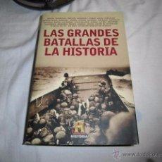 Libros de segunda mano: LAS GRANDES BATALLAS DE LA HISTORIA.EDITORIAL PLANETA Y JANES 2009. Lote 53616413