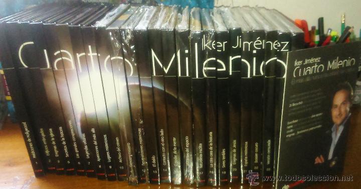 Colección cuarto milenio 24 ejemplares. libros- - Vendido en Venta ...