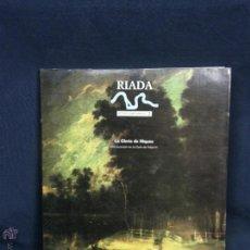 Libros de segunda mano: RIADA ESTUDIOS SOBRE ARANJUEZ LA GLORIA DE NIQUEA FIESTA TEATRAL FELIPE IV 1991 28X24X1CMS. Lote 49503202