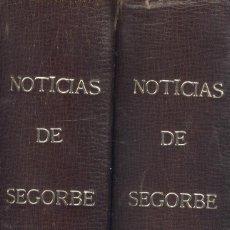 Libros de segunda mano: UN SACERDOTE DE LA DIÓCESIS. NOTICIAS DE SEGORBE Y DE SU OBISPADO. 2 VOLS. SEGORBE, 1890.. Lote 131347651