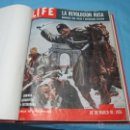 Libros de segunda mano: LIBRO DE REVISTAS ENCUADERNADO LA REVOLUCION RUSA 10-3-1958 LIFE. Lote 53531097