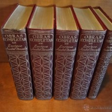 Libros de segunda mano: OBRAS COMPLETAS.(5 VOL.EDICIÓN COMPLETA).-JARDIEL PONCELA, ENRIQUE. Lote 49540892