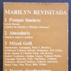 Libros de segunda mano: MARILYN REVISITADA - VV.AA. - ANAGRAMA (CUADERNOS ANAGRAMA) 1971. Lote 49546572