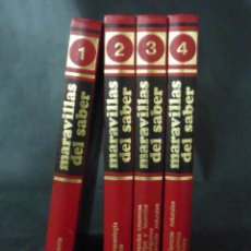Libros de segunda mano: ENCICLOPEDIA MARAVILLAS DEL SABER-CONSULTOR DIDACTICO-AÑO1979-MADRID- 4 TOMOS X1LE407*. Lote 49556123