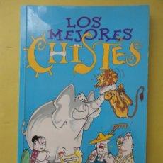 Libros de segunda mano: LOS MEJORES CHISTES. Lote 49574141