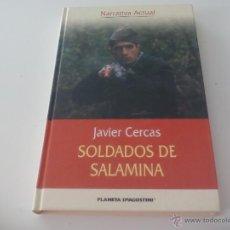 Libros de segunda mano: JAVIER CERCAS. SOLDADOS DE SALAMINA. PLANETA DEAGOSTINI 2004. Lote 49575850
