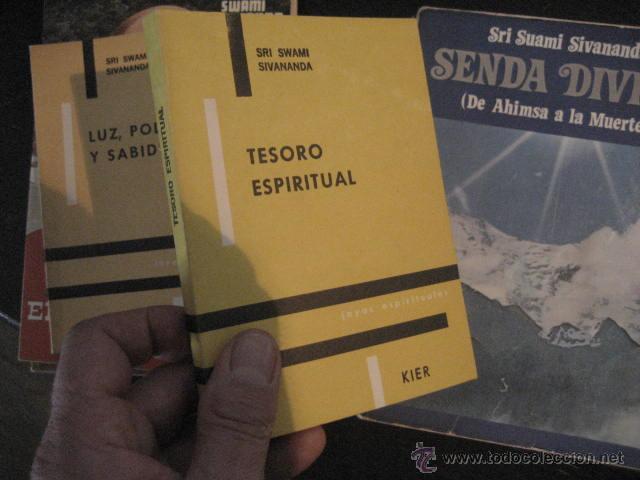 TESORO ESPIRITUAL SRI SWAMI SIVANANDA. . NO DUAL , UPANISHADS , YOGA, N5 (Libros de Segunda Mano - Parapsicología y Esoterismo - Otros)