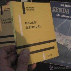 Libros de segunda mano: TESORO ESPIRITUAL SRI SWAMI SIVANANDA. . NO DUAL , UPANISHADS , YOGA, N5. Lote 49587975