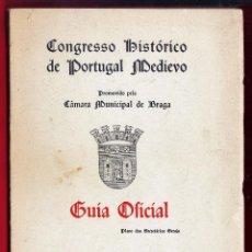 Gebrauchte Bücher - guia oficial - congreso historico de portugal medievo - en portugues - braga - año 1959 - 49607728