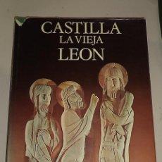 Libros de segunda mano: CASTILLA LA VIEJA LEON. TOMO I. ARTE. 1º EDICION 1975. EDITORIAL NOGUER.. Lote 49611881