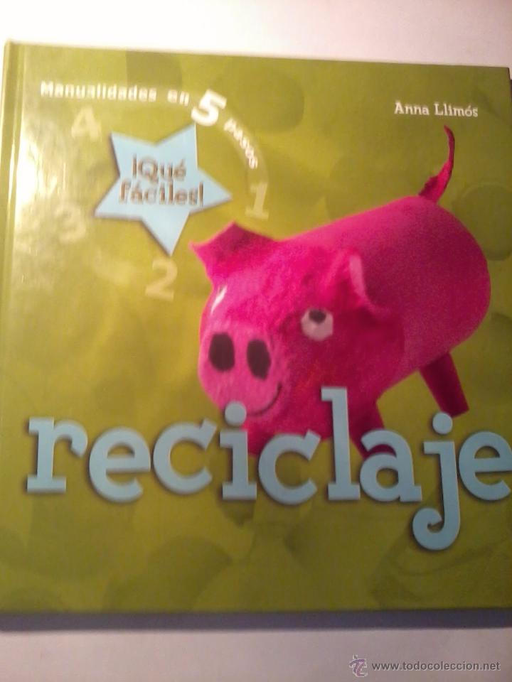 Manualidades En 5 Pasos Que Faciles Recicla Comprar En
