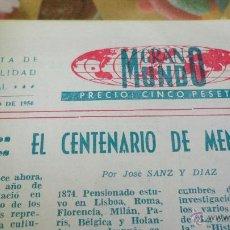 Libros de segunda mano: REVISTA GRAN MUNDO (1956). Lote 49613448