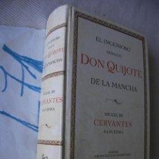 Libros de segunda mano: EL INGENIOSO HIDALGO DON QUIJOTE DE LA MANCHA - CERVANTES - EDICION LIMITADA. Lote 49637201
