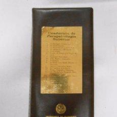 Libros de segunda mano: CUADERNOS DE PARAPSICOLOGIA SUPERIOR. LOTE DE 21 LIBRETOS. TDK240. Lote 49655593