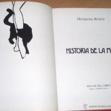 Libri di seconda mano: HISTORIA DE LA MEDIA. MARGARITA RIVIERE. HOGAR DEL LIBRO.1983.. Lote 49695611
