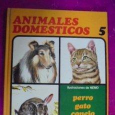 Libros de segunda mano: ANIMALES DOMESTICOS Nº 5 - NEMO / AFHA - PERRO / GATO / CONEJO / OVEJA / CERDO / PAVO / PALOMA -1976. Lote 49721575