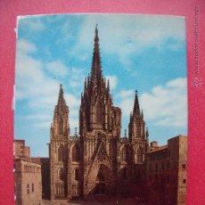 Libros de segunda mano: ANGEL FABREGA GRAU.-CANONIGO ARCHIVERO.-LA CATEDRAL DE BARCELONA.-GUIA TURISTICA.-AÑO 1973.. Lote 49743488