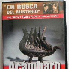 Libros de segunda mano: ACÁMBARO - DVD DOCUMENTAL EN BUSCA DEL MISTERIO 7 - F JIMÉNEZ DEL OSO / JUAN JOSÉ BENÍTEZ JJ MÉJICO. Lote 49776352