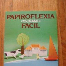 Libros de segunda mano: PAPIROFLEXIA FACIL, ORIGAMI, KUNIHIKO KASAHARA, EDAF. Lote 49779662