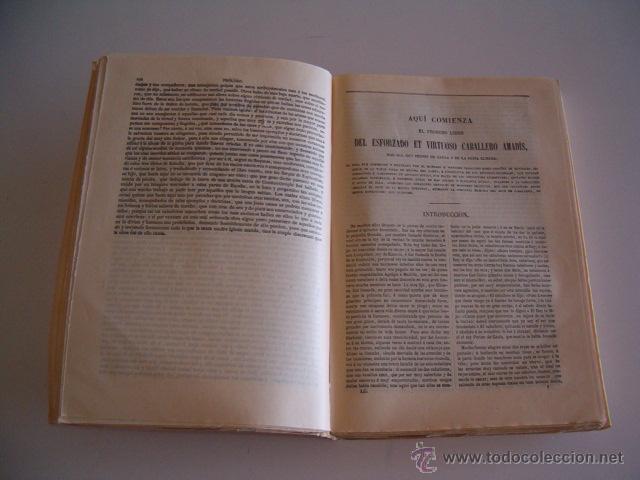 Libros de segunda mano: PASCUAL DE GAYANGOS (DIR.). Libros de Caballerías I. RM69646. - Foto 3 - 49787354