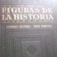 Libros de segunda mano: MIL FIGURAS DE LA HISTORIA ( 2 TOMOS ) / JAIME VICENS VIVES / 1944 / INSTITUTO GALLACH. Lote 49863565